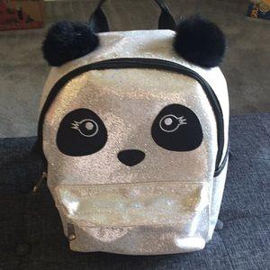 Panda sparkle back pack